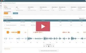 Speech Analytics Dashboard
