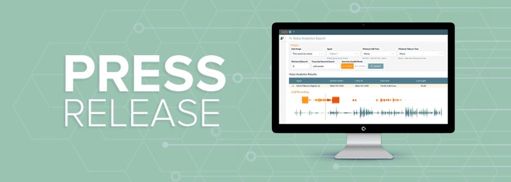 Voice Analytics Press Release